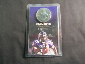 Ed Reed, Baltimore Ravens, Ring of Honor Medallion, Smyth Jewelers       J21