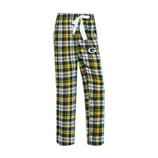 Green Bay Packers NFL Women's Plaid Pajama Bottoms, Size Small, New With Tag
