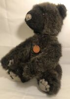"""Charleen Kinser Forever Toys 15"""" Theodore Jointed Vintage Movable Plush 86 Rare"""