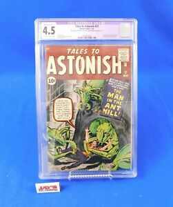 Tales to Astonish #27 - CGC Restored Grade 4.5 - Marvel 1962 Lee, Ditko, Kirby