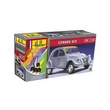 Heller 56175. Maqueta Coche Citroen 2CV. Kit de montaje con pinturas/pegam. 1/43
