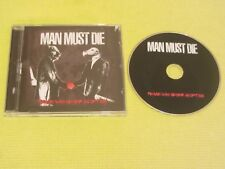 Man Must Die Peace Was Never An Option 2013 CD Album Death Metal Rock