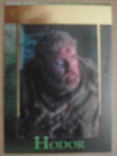 GAME OF THRONES - SEASON FOUR (4): GOLD PARALLEL BASE CARD #52 - HODOR