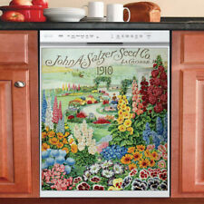 Country Kitchen Dishwasher Magnet - Beautiful Vintage Seed Label Design #2