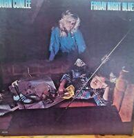 John Conlee ~ Friday Night Blues, 1980 Classic Country Rock Vinyl Record Album