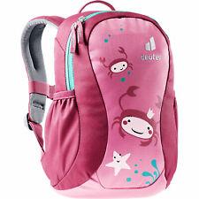 Deuter Pico Kinder-Rucksack Kinderrucksack Junior Tagesrucksack Krabben Pink Rot