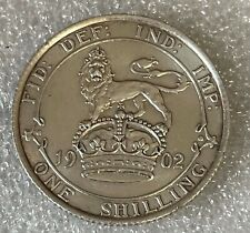 More details for high grade - 1902 proof great britain silver shilling - edward vii  #45