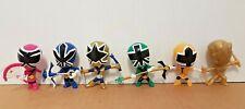 Power Rangers Super Samurai PVC Figures - Smash Rangers