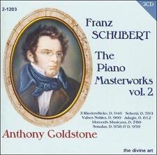 Schubert: The Piano Masterworks, Vol. 2, New Music