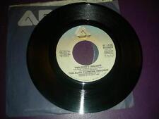 """Pop 45 Alan Parsons Project """"You Don't Believe / Lucifer"""" Arista 1983 NM"""