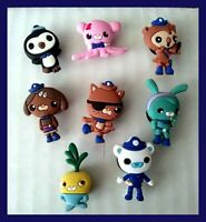 8 Octonauts Quality Silicone Shoe Charms for Crocs *USA Seller* Gift