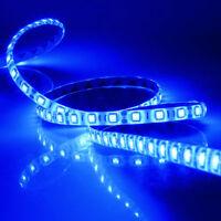 5M SMD 5050 BLUE Waterproof LED Strip 300 LEDs Light Flexible 60led/M