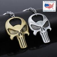 The Punisher Skull Skeleton Iraqi Soldier Army Keychain Key Ring Bottle Opener