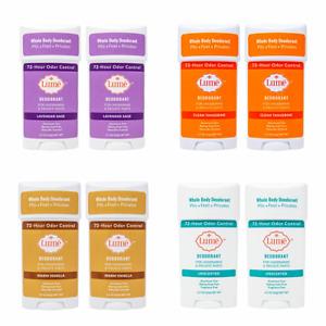 Lume Woman Deodorant Sticks Underarms & Private Parts 2.2oz Fresh Body 2 Pack US