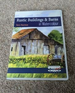 RUSTIC Buildings And Barns In Watercolour Terry Harrison Painting Region Free UK