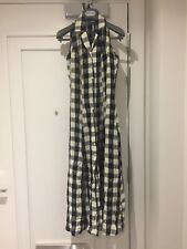Principles back & white gingham / check pattern viscose dress UK 6 (fits large)