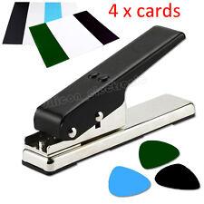 Pick Punch Make Guitar Pick Maker Plastic Card Cutter DIY Tool Black Machine