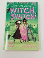 Witch Switch by Sibeal Pounder (English) Hardcover Book Free Shipping!