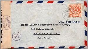 GP GOLDPATH: SURINAME COVER 1941 AIR MAIL _CV688_P24