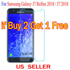 1x Clear Screen Protector Guard Film For Samsung Galaxy J7 Refine 2018 / J7 2018