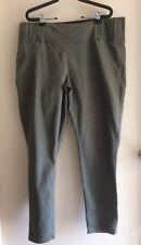 Breakers Size 20 Khaki Tapered Leg Casual Elasticised Waist Pants