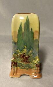 Royal Doulton 'Woodley Dale' Miniature 'Empire' Vase D5369 c1930's