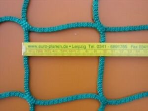 Personenauffangnetz EN 1263-1 Schutznetze Fangnetze Auffangnetz Netz 10m x 10m