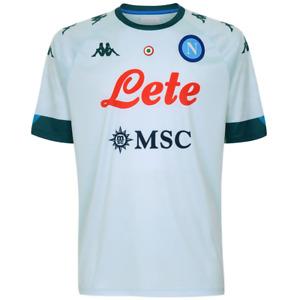 Maglia SSC Napoli Replica Verde 2020/2021 Originale Uomo Kappa T-Shirt