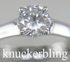 Platinum Excellent Cut Not Enhanced VVS2 Fine Diamond Rings