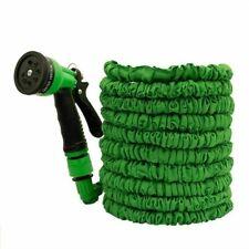 ESPANDIBILE TUBO DA GIARDINO tubo a spruzzo tubi flessibili in espansione Stretch 50/100FT