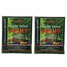 Alcotec Fruit Turbo Distillers Yeast (Pack of 2)