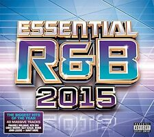 VARIOUS ARTISTS - ESSENTIAL R & B 2015: 2CD ALBUM SET (2014)