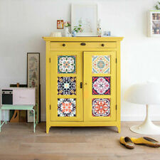 Fashion Decors Tile Stickers Wall Self Adhesives Kitchen Cabinets Accessories