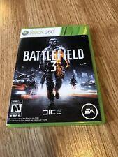 Battlefield 3 (Microsoft Xbox 360, 2011) Cib Game Works VC9