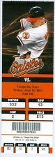 2011 Orioles vs Tampa Bay Rays Ticket: Nick Markakis Grand Slam/J.J. Hardy HR