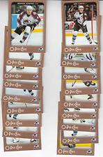 06/07 OPC Colorado Avalanche Team Set w/ RC and Inserts - Sakic Theodore Budaj +