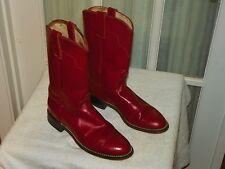 Women's Red Tony Lama Roper Cowboy Boots 6 B Style 7500L