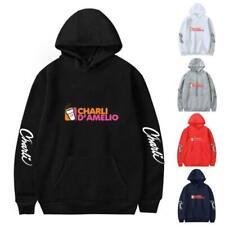 Новая толстовка charli D 'amelio мужчины женщины улица повседневный толстовка пуловер пальто топы