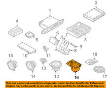 BMW OEM 03-08 760Li Stereo Audio Radio-Package Tray Left 65139147000