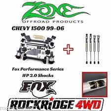 "ZONE 6"" Chevy Suspension Lift 99-06 Silverado/Sierra 1500 W/ Fox Performance IFP"