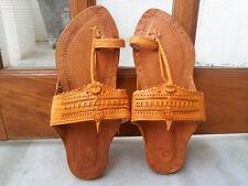 men US 9 to 11 handmade leather sandal handmade shoes kolhapuri mojari flip flop