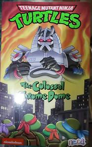 "NECA 54180 Teenage Mutant Ninja Turtles Chrome Dome 10"" Action Figure in Stock"