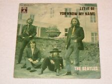 """THE BEATLES LET IT BE SPANISH ORIGINAL ISSUE 7"""""""