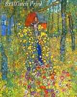 The Approaching Thunderstorm by Gustav Klimt Poplar Tree Sky  8x10 Print 2233