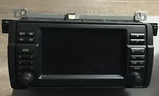 BMW 3 SERIES E46 SAT NAV RADIO SYSTEM TV HEAD UNIT WIDESCREEN MONITOR SCREEN M3