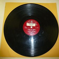 DOO WOP 78RPM VINYL PROMO RECORD - SONNY WOODS W/TWIGS - HOLLYWOOD 1015