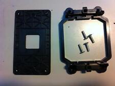 *•✿•*LOT OF 3 *•✿•*AMD Socket AM3+ CPU Retention Bracket & Plate & 4 Screws