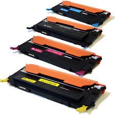 4PK CLT-K407S/C407S/M407S /Y407S Toner Cartridges For Samsung CLP-320 CLP-325 CL