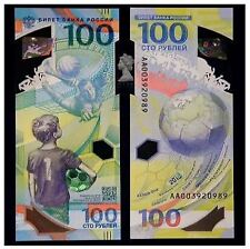 Russia 100 Rubles 2018 FIFA Football World Cup (Gem UNC) SPECIAL OFFER