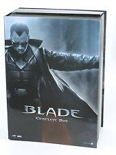 BLADE Wesley Snipes Complete DVD Box with Medicom RAH figure